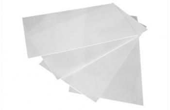 Лист G10 белый, 250*130*0,4