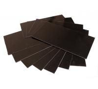 Лист G10 черный, 250*130*0,4