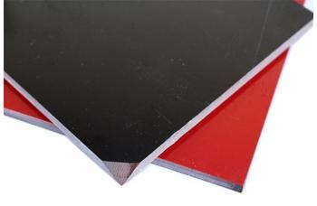 Лист G10 черный/красный, 250*130*6,0
