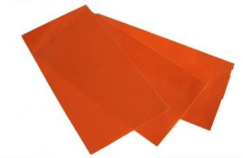Лист G10 оранж, 250*130*0,4