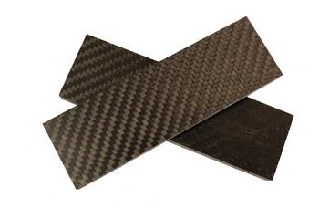 Carbon  пара плашек 130х40х10 мм