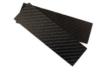 Carbon  пара плашек 130х40х4 мм
