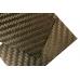 Carbon  плашка 130х80х4 мм