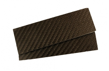 Carbon  пара плашек 130х40х7 мм