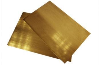 Латунь Л63 пластина (195*150) толщиной 2мм