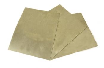 Нейзи́льбер пластина (200*165) толщиной 0.9мм