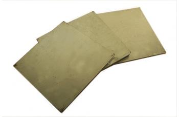 Нейзи́льбер пластина (105*100) толщиной 4мм